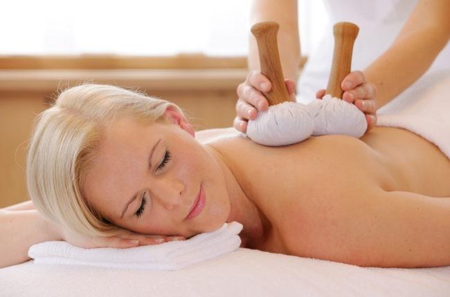 Massage im Wellnessurlaub