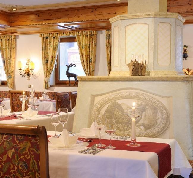 Restaurant im Hotel Alpenrose in Altenmarkt-Zauchensee