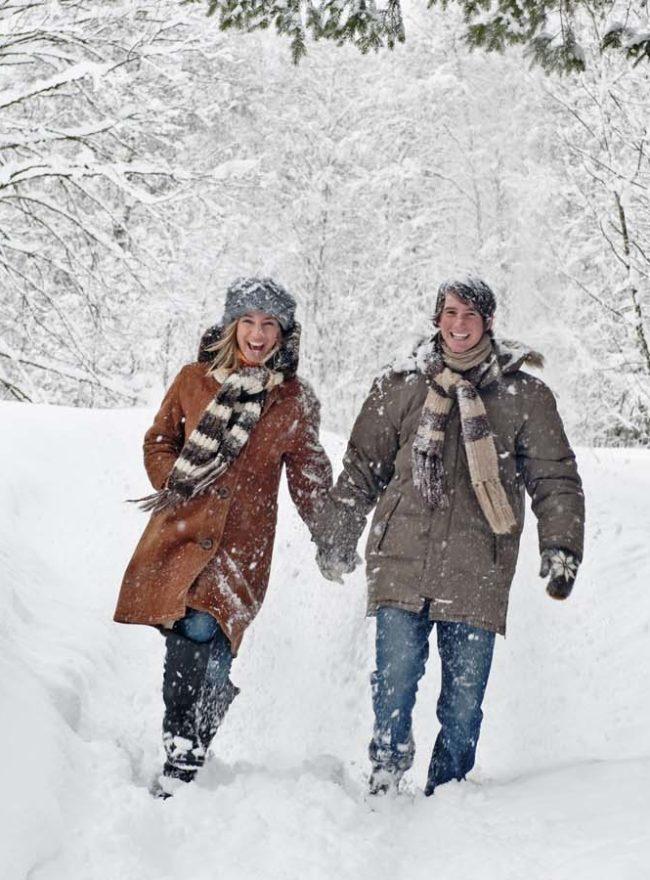 Winterwandern, Österreich, Salzburger Land, Altenmarkt, Österr