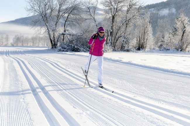 Cross-country skiing- hotel Alpenrose