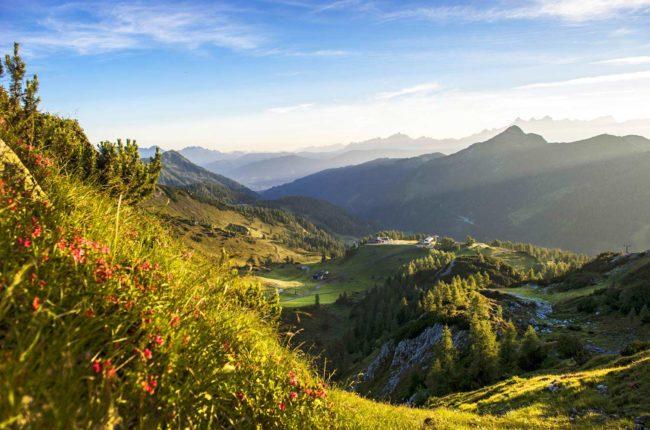Landschaft Zauchensee